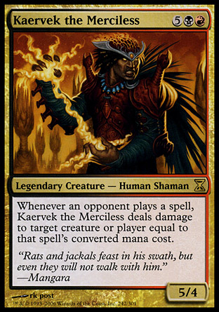 Kaervek the Merciless | Time Spiral