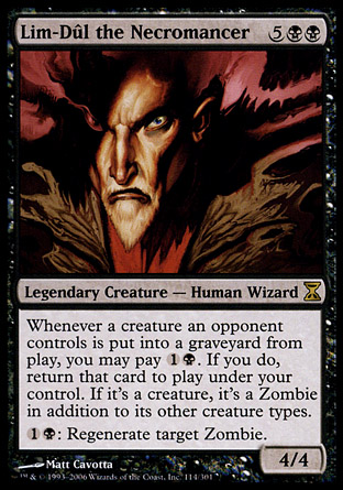Lim-Dul the Necromancer | Time Spiral