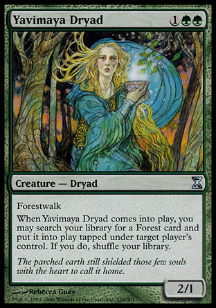 Yavimaya Dryad | Time Spiral