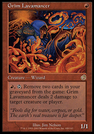 Grim Lavamancer | Torment