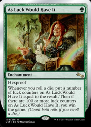 As Luck Would Have It | Unstable