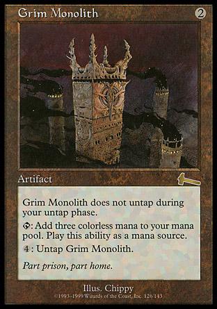 Grim Monolith | Urzas Legacy