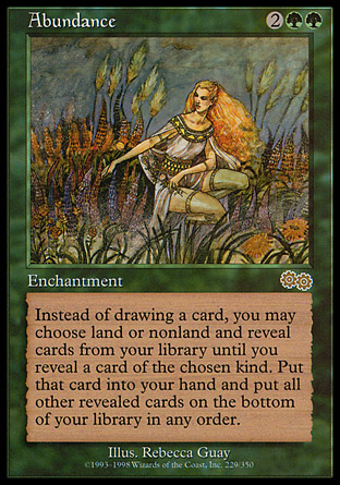 Abundance | Urzas Saga