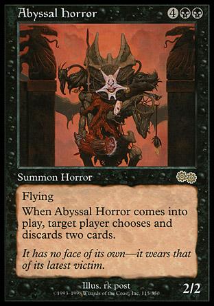 Abyssal Horror | Urzas Saga