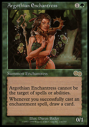 Argothian Enchantress | Urzas Saga