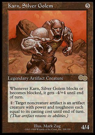 Karn, Silver Golem | Urzas Saga