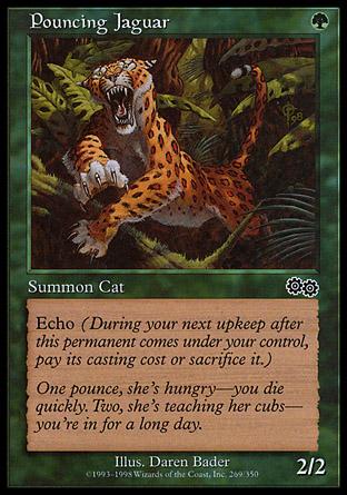 Pouncing Jaguar | Urzas Saga