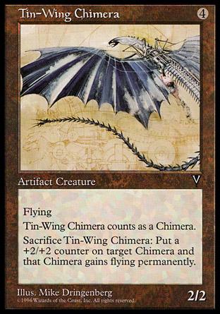 Tin-Wing Chimera | Visions