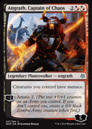 Angrath, Captain of Chaos | War of the Spark