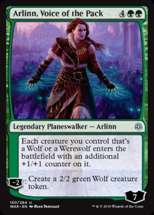 Arlinn, Voice of the Pack | War of the Spark