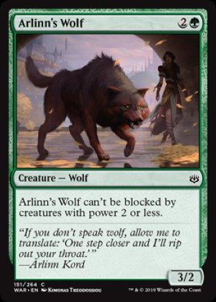 Arlinn's Wolf | War of the Spark