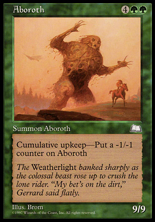 Aboroth | Weatherlight