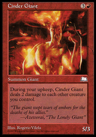 Cinder Giant | Weatherlight