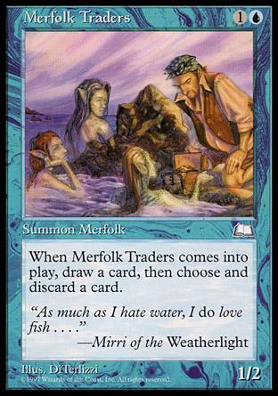 Merfolk Traders | Weatherlight