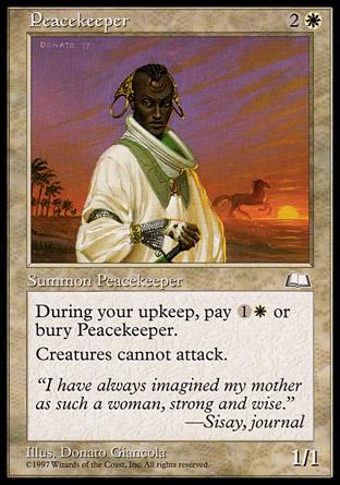 Peacekeeper   Weatherlight