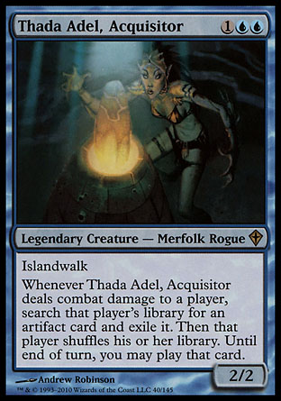 Thada Adel, Acquisitor | Worldwake