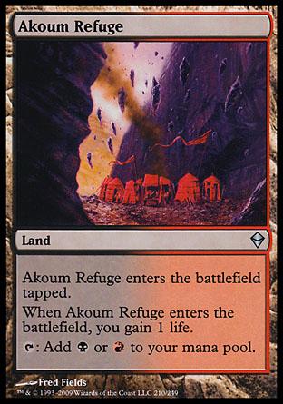 Akoum Refuge | Zendikar