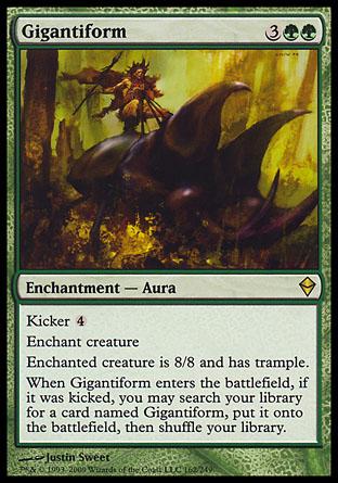 Gigantiform | Zendikar