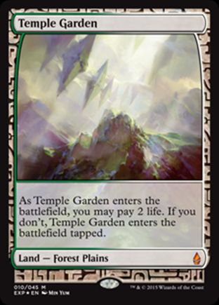 Temple Garden | Zendikar Expeditions
