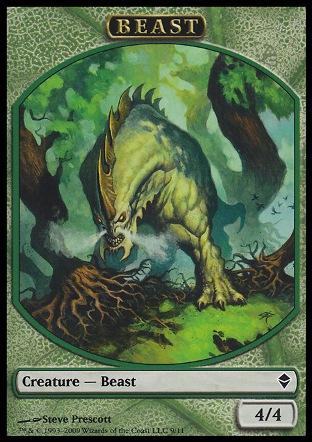 Beast token | Zendikar