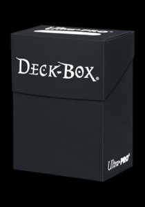 Deck Box Solid Black