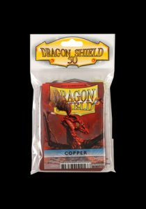 Sleeves Dragon Shield Copper (50)