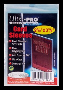Sleeves Soft Standard (100)