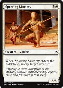 Sparring Mummy