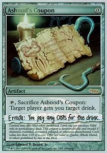 Ashnod's Coupon