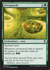 Overgrowth | Commander 2018