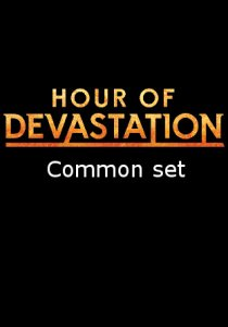 -HOU- Hour of Devastation Common Set | Complete sets