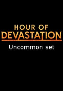 -HOU- Hour of Devastation Uncommon Set | Complete sets