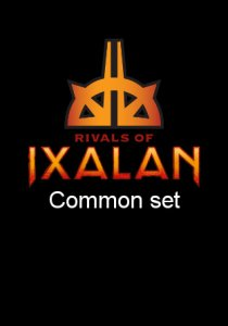 -RIX- Rivals of Ixalan Common Set | Complete sets
