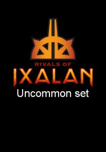 -RIX- Rivals of Ixalan Uncommon Set | Complete sets