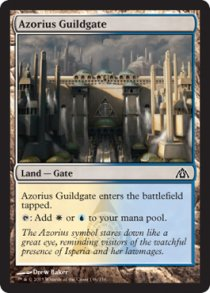 Azorius Guildgate | Dragons Maze