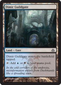 Dimir Guildgate | Dragons Maze