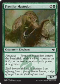 Frontier Mastodon | Fate Reforged