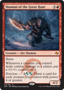 Shaman of the Great Hunt | Fate Reforged