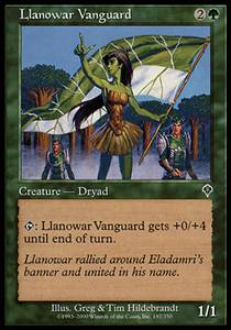 Llanowar Vanguard