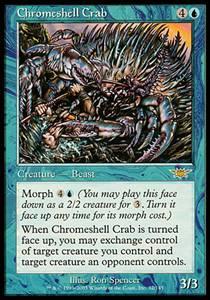 Chromeshell Crab | Legions