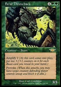 Feral Throwback | Legions