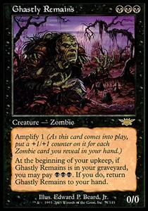 Ghastly Remains | Legions