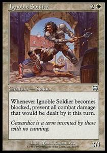 Ignoble Soldier