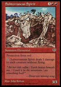 Subterranean Spirit