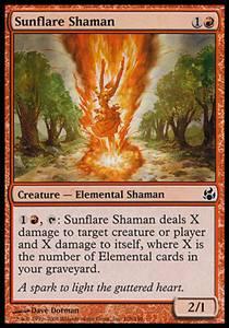 Sunflare Shaman