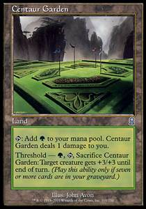 Centaur Garden | Odyssey