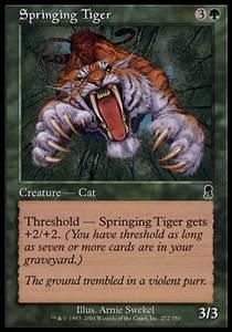 Springing Tiger