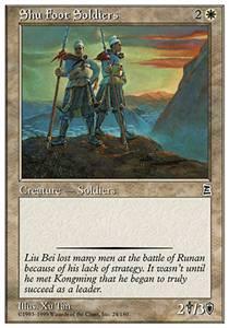 Shu Foot Soldiers