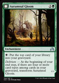 Autumnal Gloom | Shadows over Innistrad