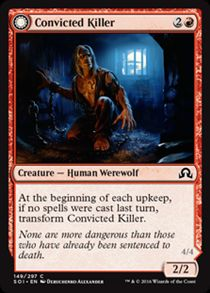 Convicted Killer | Shadows over Innistrad